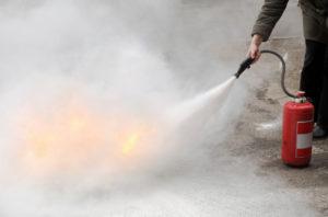 prevención de incendios en talleres