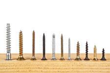¿Qué tornillos para madera elegir? Conoce los tipos y escoge correctamente