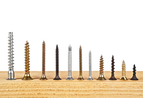 qu tornillos para madera elegir conoce los tipos y